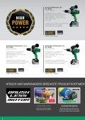 HPT Batterier 4,0 AH brosjyrer SE oppdatert aug.indd - Hitachi - Page 6