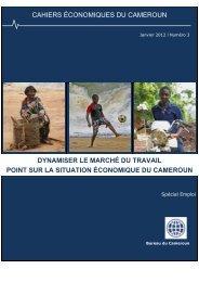 CAHIERS ÉCONOMIQUES DU CAMEROUN - World Bank Blogs