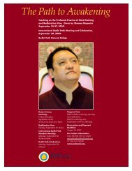 The Path to Awakening - Bodhi Path Buddhist Centers