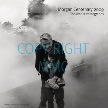 a taster of the content - The Morgan Motor Company