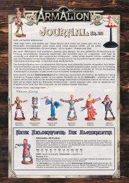 Neue Heldenfigur: Die Alchemistin - Armalion-Kompendium