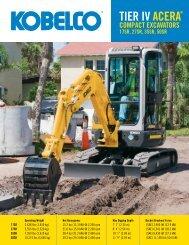 Compact Excavators - Chattanooga Tractor & Equipment