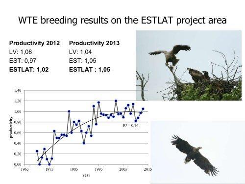 White-tailed Eagle (WTE) monitoring in Estonia 2012-2013
