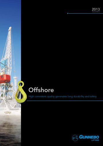 Offshore Catalogue 2013 - Gunnebo Industries