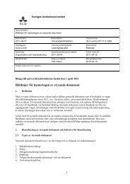 Riktlinjer för hanteringen av styrande dokument - SLU