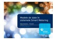 Modele de date în sistemele Smart Metering - Cnr -cme