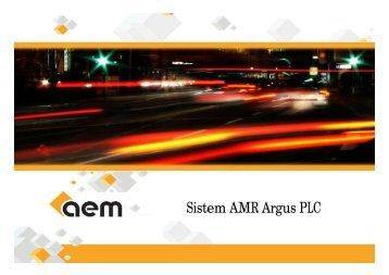 Sistem AMR Argus PLC - Cnr -cme