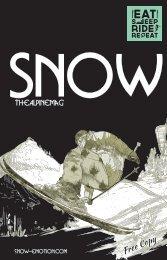 SNOW 2015 - das Schweizer Wintermagazin