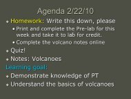 Agenda 2/22/10 - Arapahoe High School