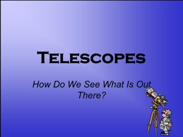 Telescopes - Arapahoe High School