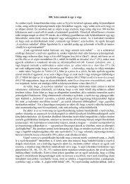 100. Száz szónak is egy a vége Az emberi nyelv ... - E-Nyelv Magazin