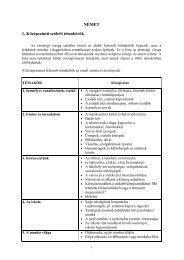 Középszintü szóbeli vizsga nyilvánosságra hozható témakörei és ...