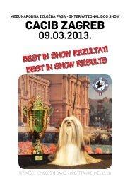 international dog show cacib zagreb - HKS-a