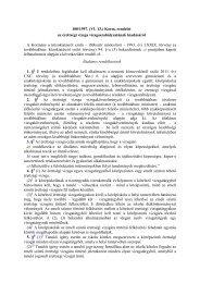 a 100/1997. Korm. rendelet - I. Béla Gimnázium