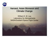 Aerosols, Monsoon Rainfall Variability, and Climate Change