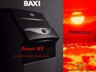 POWER HT 1.850 85 kW POWER HT 1.1000 100 kW POWER HT ...