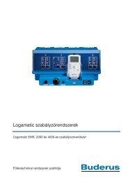 Logamatic szabályzórendszerek