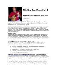 Thinking Good Tone Part 1: What the Pros say ... - JazzMando.com