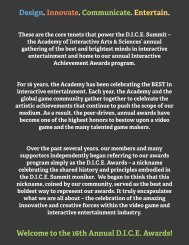 Rules and Procedures - the Academy Of Interactive Arts & Sciences