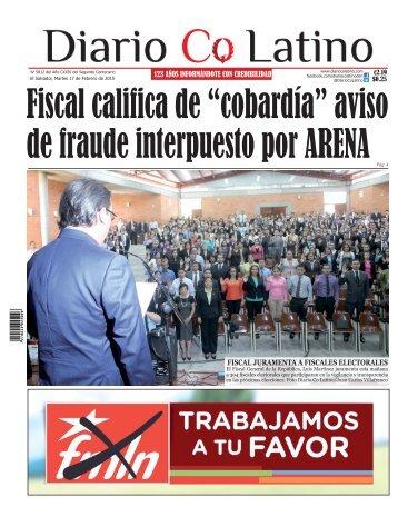 Edición 17 de Febrero de 2015