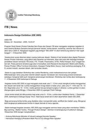 ITB News