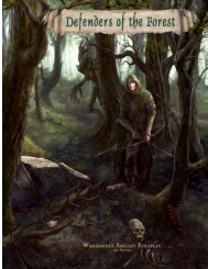 Defenders of the Forest - Liber Fanatica