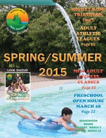 Spring/Summer 2015