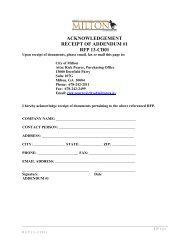 acknowledgement receipt of addendum #1 rfp ... - Cityofmiltonga.org