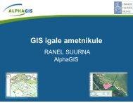 GIS igale ametnikule