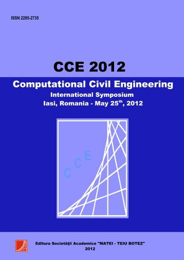 computational civil engineering 2012 - Intersections