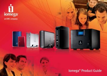 Iomega® Product Guide - iSource