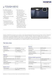 µ TOUGH-6010, Olympus, Compact Cameras