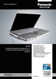 cf-f9. das business-ruggedized toughbook  mit ... - IQSoftware GmbH