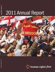 2011 Annual Report (PDF) - Human Rights First