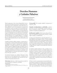 Derechos Humanos y Cuidado Paliativo