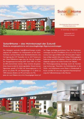 Solar@Home − das Wohnkonzept der Zukunft - Solarathome.de