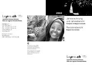 Jahresrechnung und Jahresbericht Revisionsbericht 2002 - Fairmed