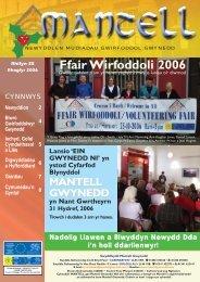 Copi Cymraeg Rhagfyr 2007.qxd - Mantell Gwynedd
