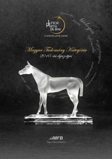 Junior Prima díj 2010