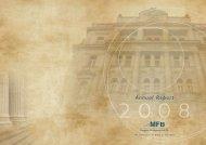 2008 Annual report - Magyar Fejlesztési Bank Zrt.