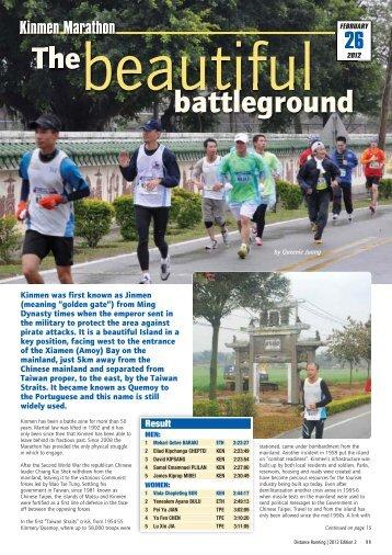 Distance Running 2012 Edition 2 - Distance Running magazine