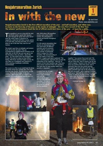 1 - Distance Running magazine