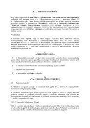 Megújuló energia termelés - Magyar Fejlesztési Bank Zrt.