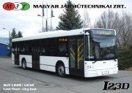 Bus/MJT JTDL2 - Magyar Járműtechnikai Zrt.