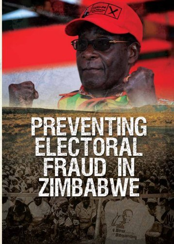 Preventing Electoral Fraud report SAIRR May 11 ... - AfricanLiberty.org