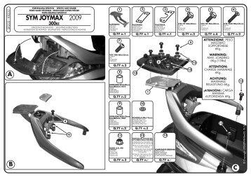 SYM JOYMAX 2009 - MOTO S+P