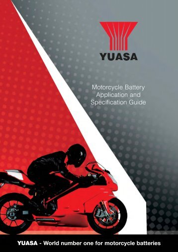 Motorcycle Battery Application And Specification Guide