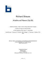 Ariadne auf Naxos - Stadtbibliothek Stuttgart