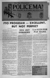 August 1978 - San Francisco Police Officers Association