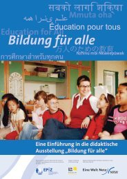 Bildung für alle - Eine Welt Netz NRW